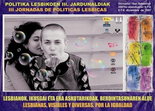III Jornadas de Políticas Lesbicas