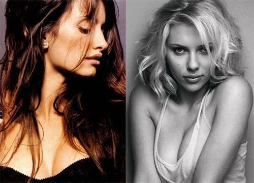 Scarlett Johansson y Penelope Cruz protagonizaran una escena lésbica