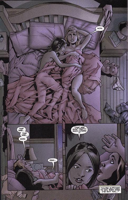 La experiencia lésbica de Buffy la Cazavampiros