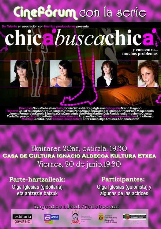 Chica busca Chica en Vitoria