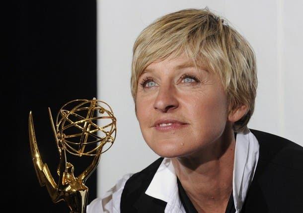 Ellen DeGeneres se lleva su cuarto Emmy consecutivo