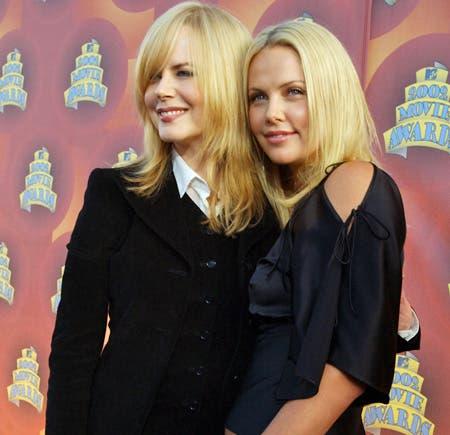 Charlize Theron y Nicole Kidman serán pareja en una nueva película