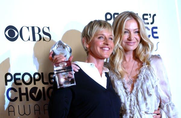 Portia de Rossi habla sobre su matrimonio con Ellen DeGeneres