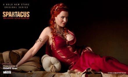 Lucy Lawless a puntito de mostrarse en Spartacus