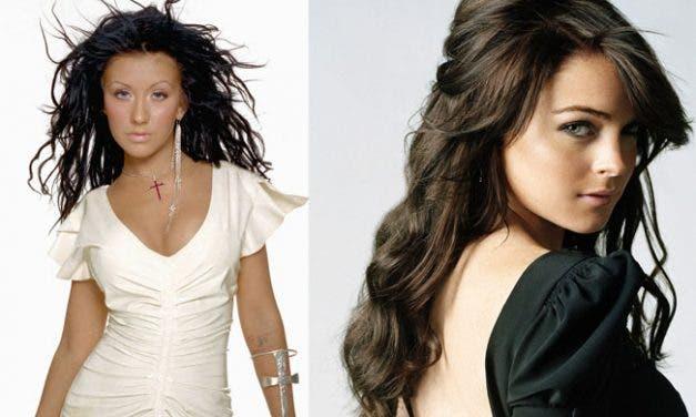 Chismes Lesbicanarios: Cristina Aguilera se lo montaría con Lindsay Lohan