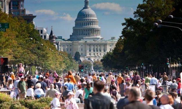 La marcha por la igualdad en EEUU