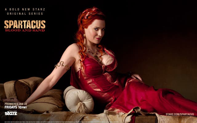 Adorna tu escritorio con Lucy Lawless en Spartacus