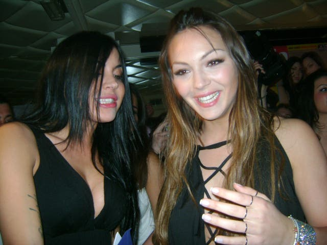 Sarah y Veronica:  Gala 8 de Febrero