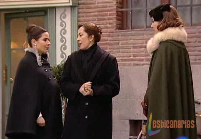Ana y Teresa Amar en Tiempos Revueltos