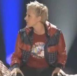 Ellen DeGeneres si que sabe bailar