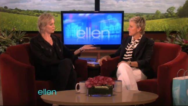 Jane Lynch y Ellen hablan sobre salir del armario siendo famosas