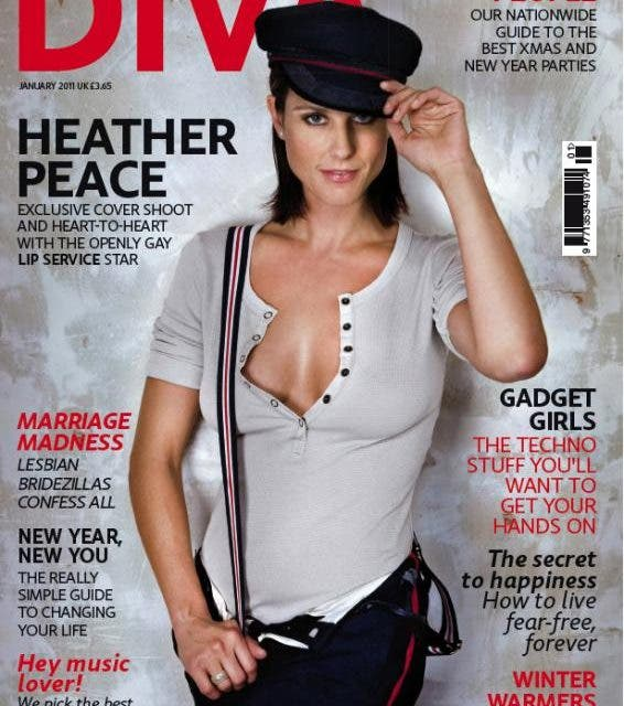 Heather Peace habla sobre su experiencia como actriz lesbiana