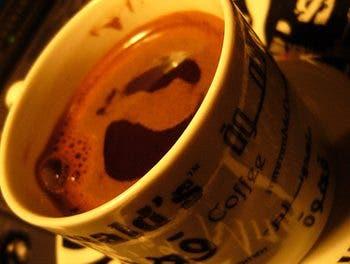 Gracias por los cafés abril 2011