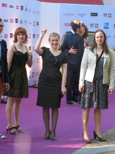 Jenny y Emma en los Soap Awards
