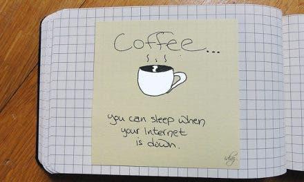 Gracias por los cafés