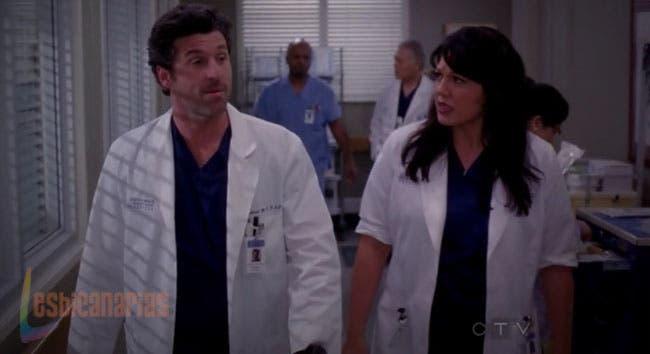 Callie con Derek