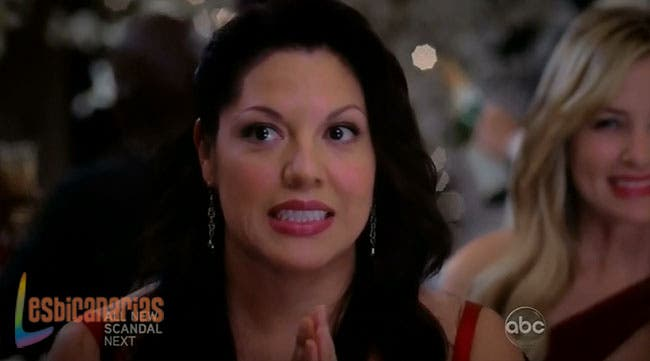 Callie y Arizona con cara de Oops