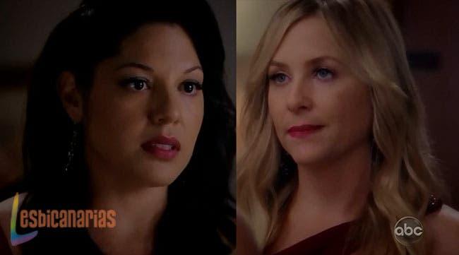 Callie y Arizona dudando