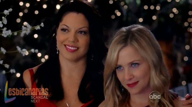 Callie y Arizona guapísimas
