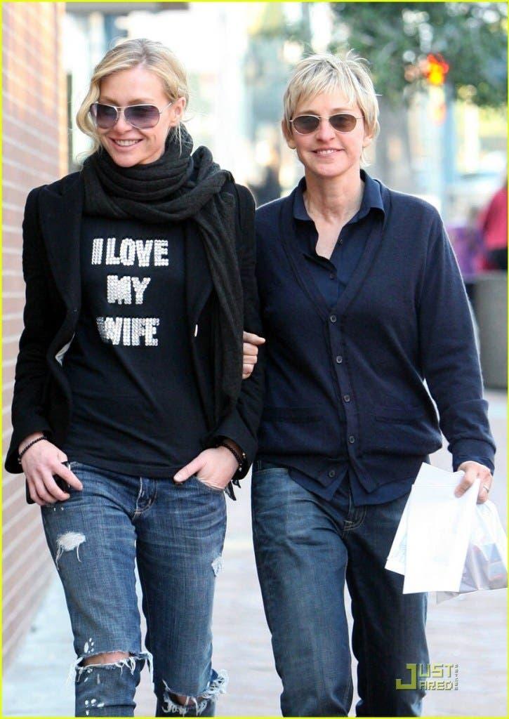 Ellen DeGeneres celebra el cumpleaños de Portia de Rossi