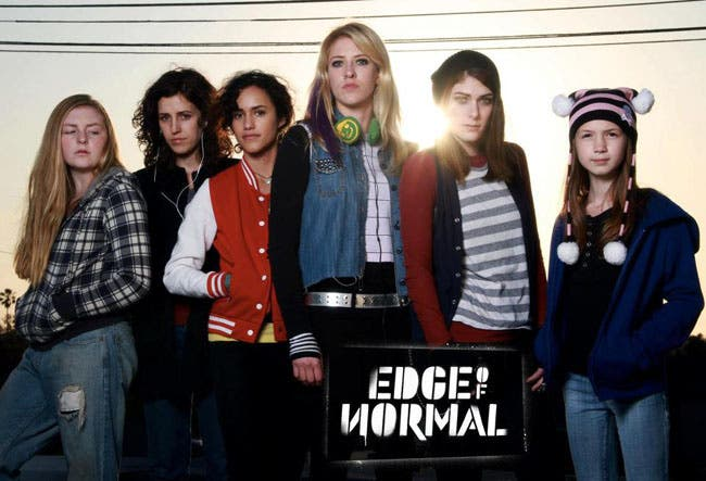 """Edge of Normal"" una serie lésbica genial"