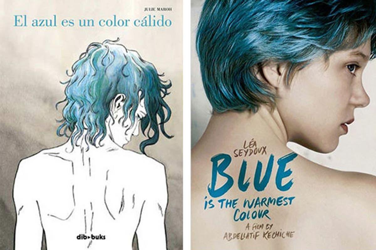 """Actriz Porno Lesbico Española Pelo Azul el azul es un color cálido"""" trailer internacional de la película"""