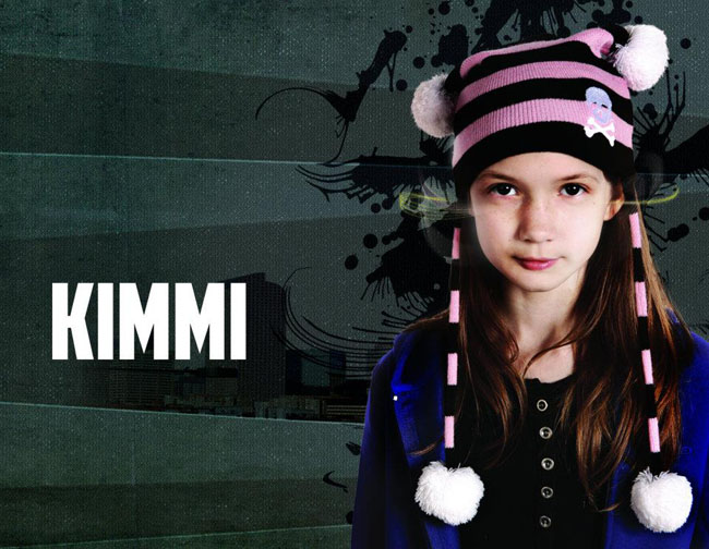 Kimmi Edge of Normal serie lésbica