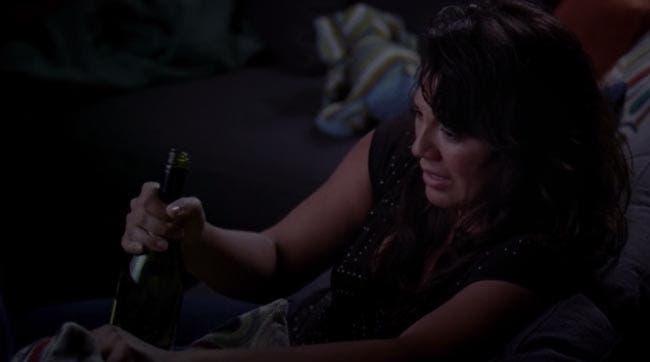 Callie emborrachándose
