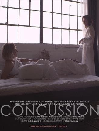 Concussion película lésbica