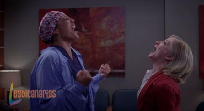 Callie y Arizona Anatomia de Grey