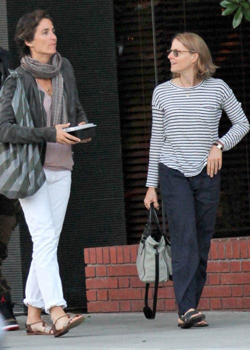 Jodie Foster y Alexandra Hedison ¿Nueva pareja lésbica ...