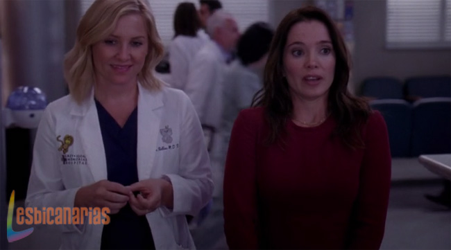 Callie y Arizona: resumen de episodio 10×08