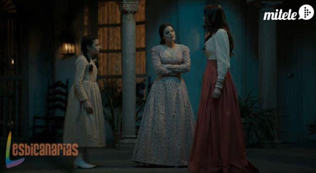 Isabel discute con Rosita y Nieves