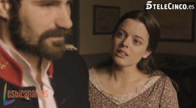 Isabel preguntando si Ruiz mató a Cristina