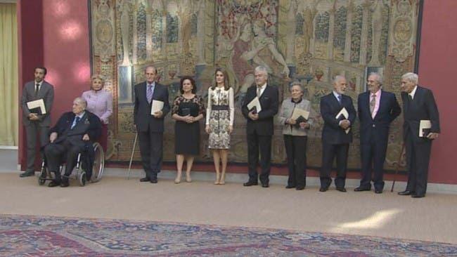"""La Princesa Letizia cita a """"La Vida de Adele"""" en una premiación"""
