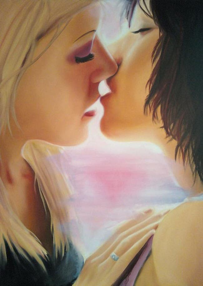 pinturas lésbicas