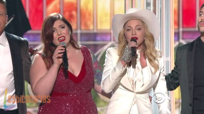 El lado lésbico de los Grammy 2014