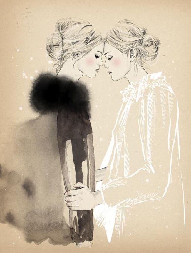 Ilustraciones lésbicas