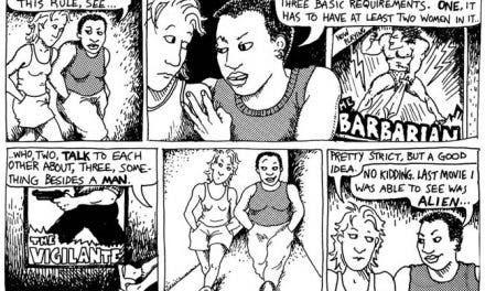 El test de Bechdel y su relación con el cómic lésbico «Unas Bollo de Cuidado»