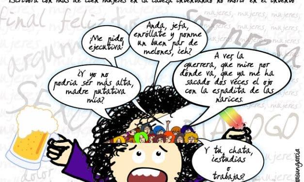 Yo Lesbicanaria: De las mujeres que hay en mi cabeza (y el follón que dan)