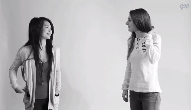 ¿Qué sucedería si se abrazaran una homófoba y una lesbiana?