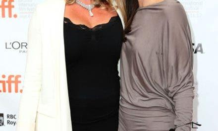 Zoie Palmer agradeció a su novia y a su hijo en los Canadian Screen Awards