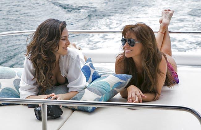 "Clara y Marina  merecen besarse ""Em Familia"""