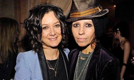 Sara Gilbert y Linda Perry se han casado