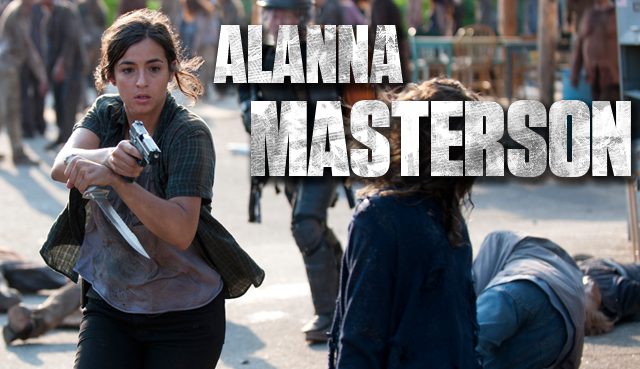 Alanna Masterson regular en la quinta temporada de The Walking Dead