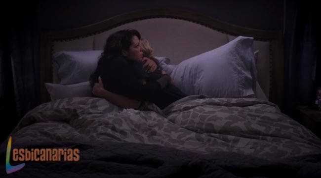 Callie y Arizona Greys Anatomy