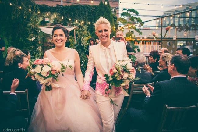 imágenes de bodas de lesbianas