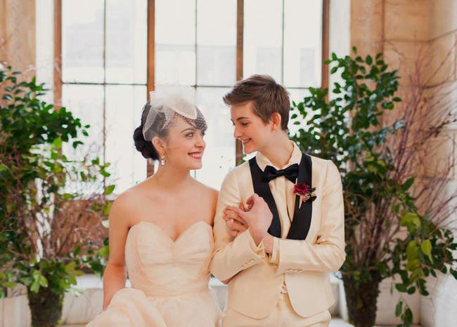 Fotografías de bodas lésbicas