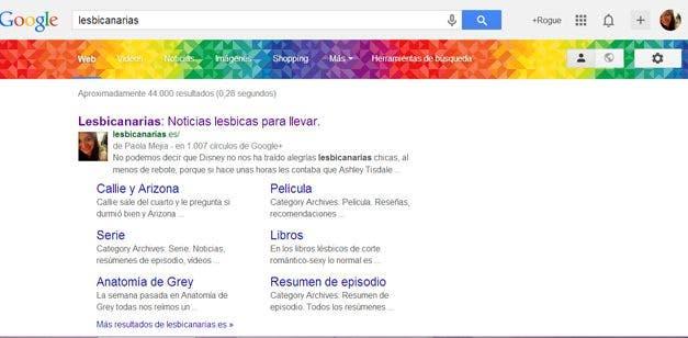 Google celebra el orgullo LGBT con nosotras