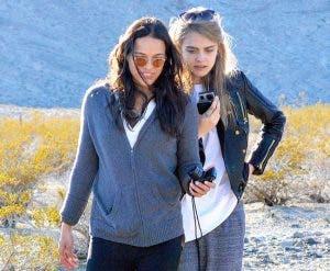 Michelle Rodriguez y Cara Delevigne podrían haber terminado